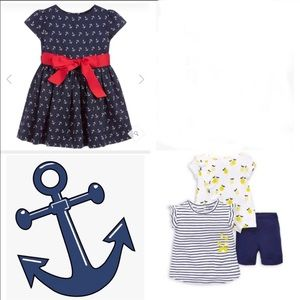 ⭐️Host Pick Ralph Lauren baby girl summer bundle